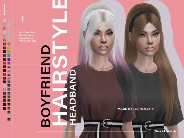 Sims 4 Boyfriend Hair by Leah Lillith at TSR