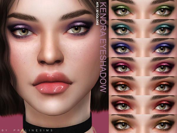 Kendra Eyeshadow N75 by Pralinesims at TSR » Sims 4 Updates