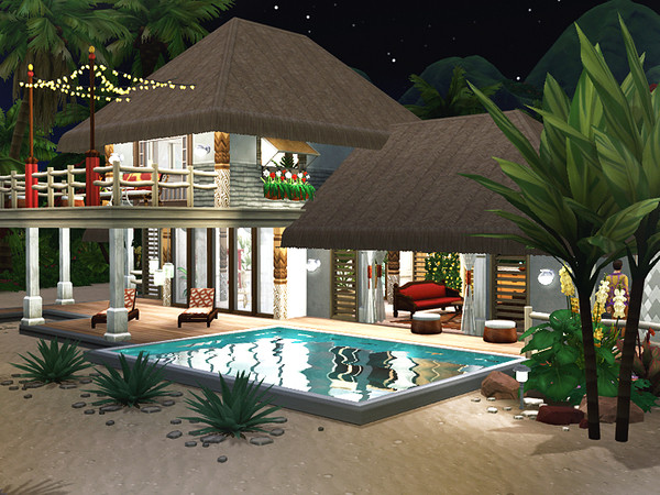 Jasna beach cottage by Rirann at TSR image 2124 Sims 4 Updates