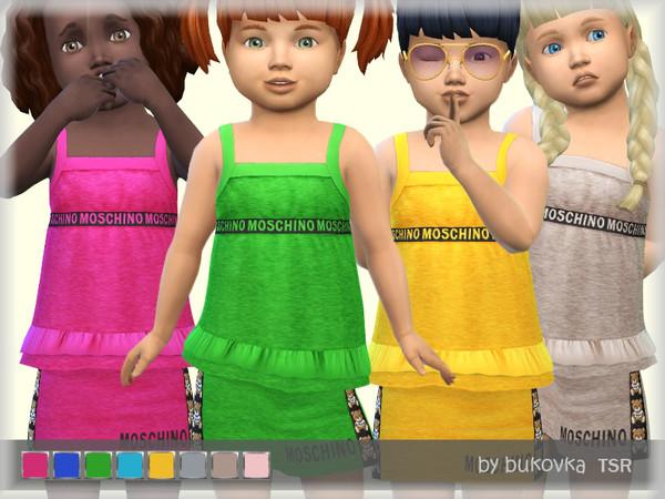 Sims 4 Shirt Toddler by bukovka at TSR