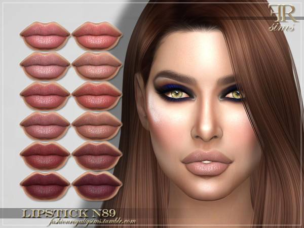 FRS Lipstick N89 by FashionRoyaltySims at TSR image 213 Sims 4 Updates