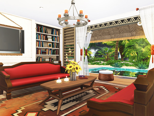 Jasna beach cottage by Rirann at TSR image 2218 Sims 4 Updates