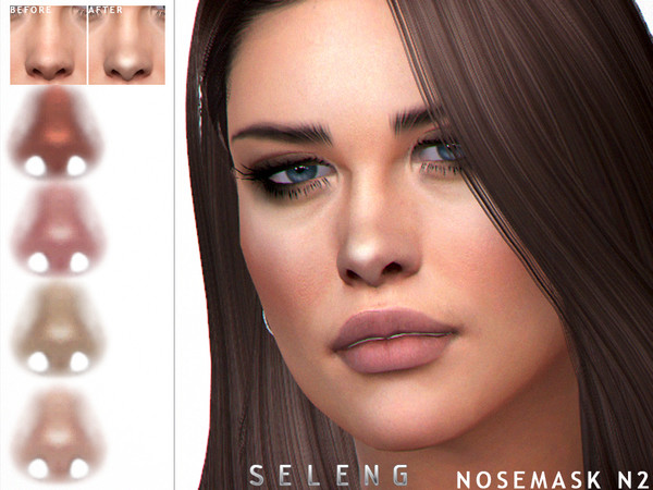 Nosemask N2 by Seleng at TSR image 223 Sims 4 Updates