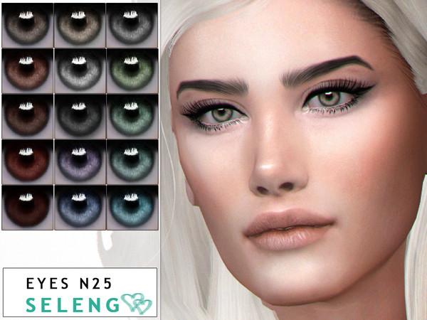 Sims 4 Eyes N25 by Seleng at TSR
