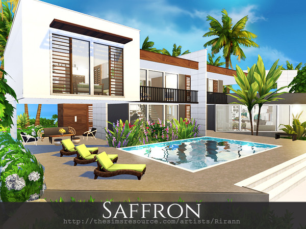 Saffron house by Rirann at TSR image 235 Sims 4 Updates