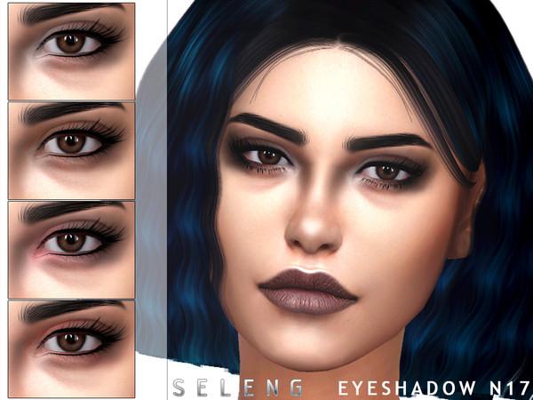 Sims 4 Eyeshadow N17 by Seleng at TSR