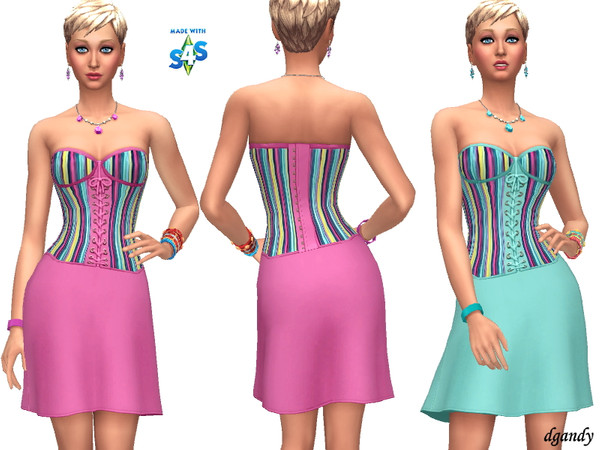 Sims 4 Dress 201908 08 by dgandy at TSR
