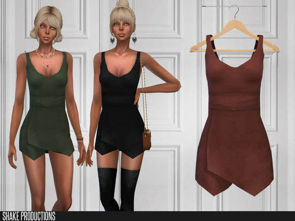 Sims 4 306 Dress by ShakeProductions at TSR