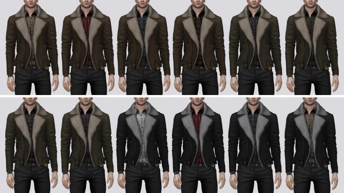 Fur Suede Jacket (P) at Darte77 image 2621 670x376 Sims 4 Updates