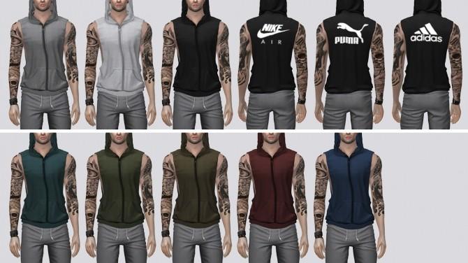 Sleeveless Hoodie at Darte77 image 2661 670x376 Sims 4 Updates