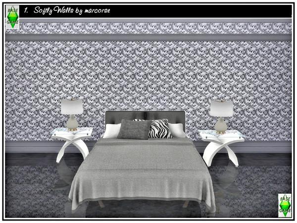 Sims 4 Softly Walls by marcorse at TSR