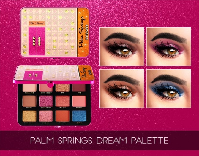 Palm Springs Dreams Palette at Kenzar Sims image 2771 670x527 Sims 4 Updates