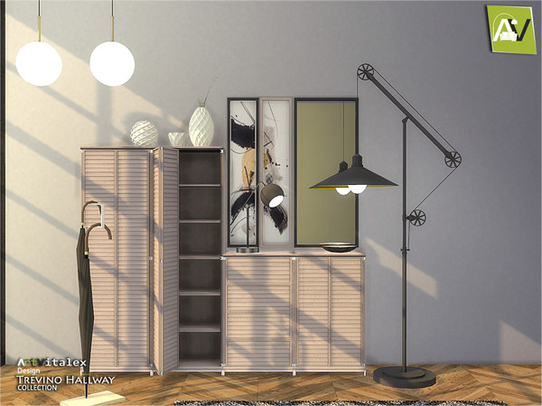 Trevino Hallway by ArtVitalex at TSR image 294 Sims 4 Updates