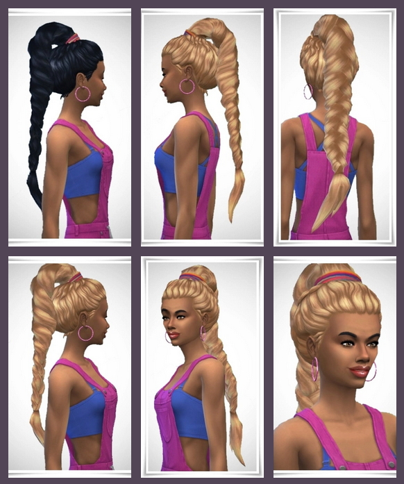 Beach Pony Tail F at Birksches Sims Blog image 2951 Sims 4 Updates