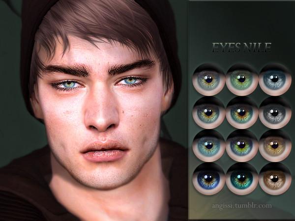 Sims 4 Nile eyes by ANGISSI at TSR
