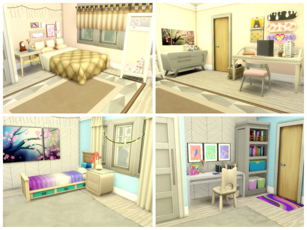 Modern Dream house by Mini Simmer at TSR image 3 Sims 4 Updates