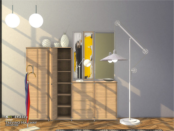 Trevino Hallway by ArtVitalex at TSR image 304 Sims 4 Updates