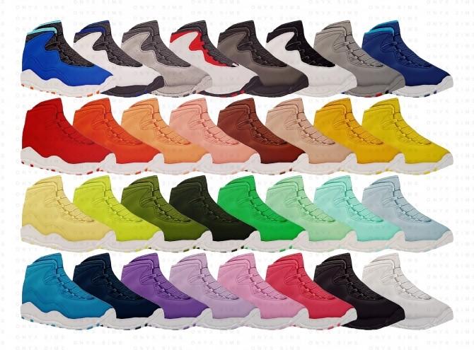 Air Jordan 10 Retro at Onyx Sims image 3061 670x495 Sims 4 Updates