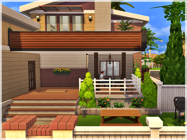 Sims 4 Sun Rose Cottage by Ray Sims at TSR