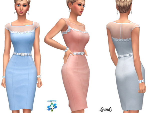 Sims 4 Dress 201908 03 by dgandy at TSR