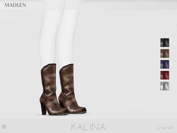 Sims 4 Madlen Kalina Boots by MJ95 at TSR