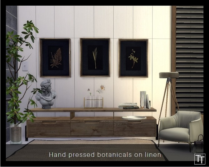 Restoration Hardware Wall Art By Tilly Tiger At Blooming Rosy 187 Sims 4 Updates
