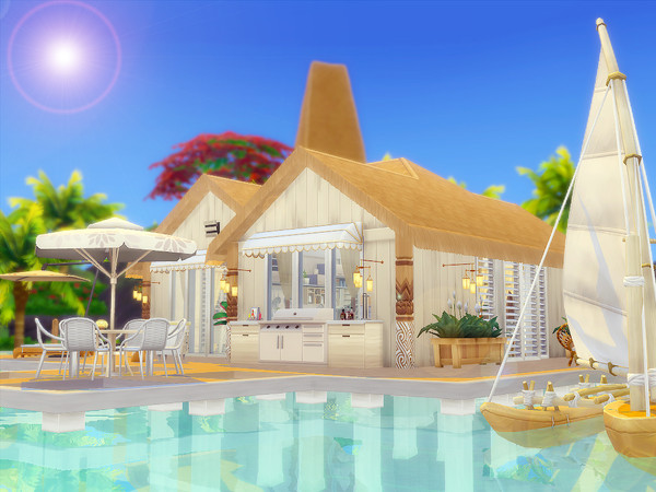 Sims 4 Malie house Nocc by sharon337 at TSR