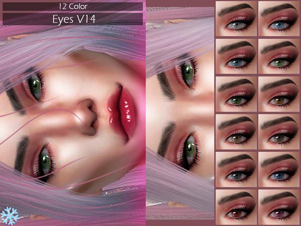 Sims 4 LMCS Eyes 14 by Lisaminicatsims at TSR