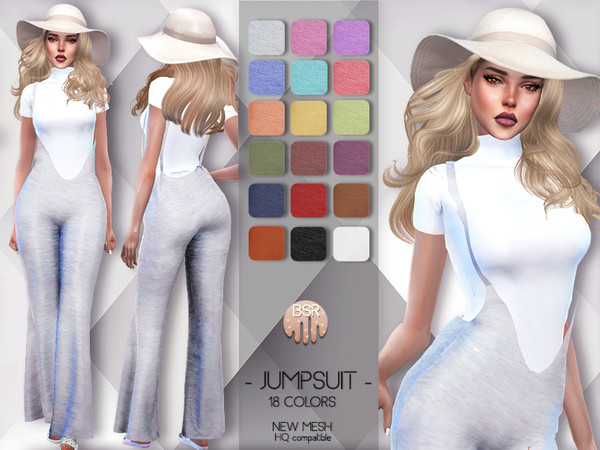 Sims 4 Jumpsuit (Overalls) BD79 by busra tr at TSR