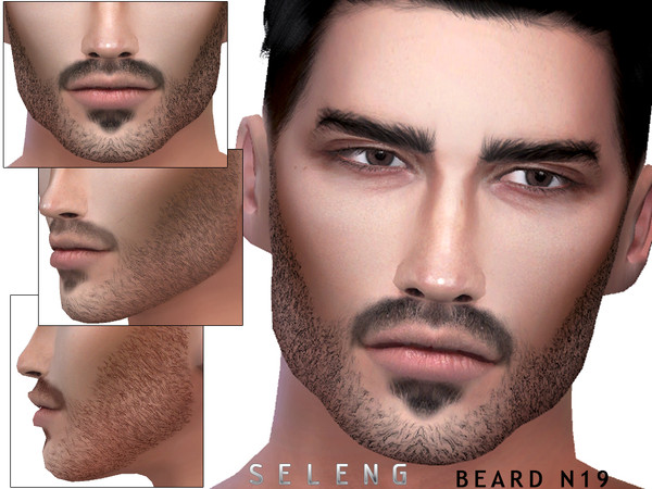 Sims 4 Beard N19 by Seleng at TSR