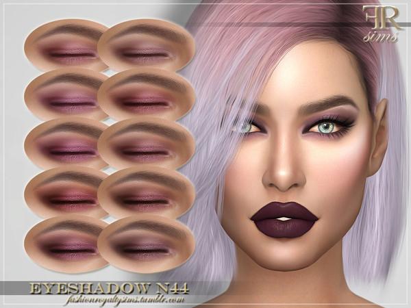 FRS Eyeshadow N44 by FashionRoyaltySims at TSR image 3411 Sims 4 Updates