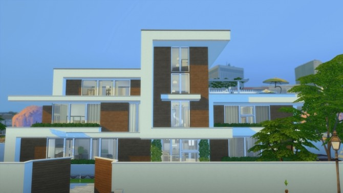 Ultra Modernity house by RayanStar at Mod The Sims image 3413 670x377 Sims 4 Updates