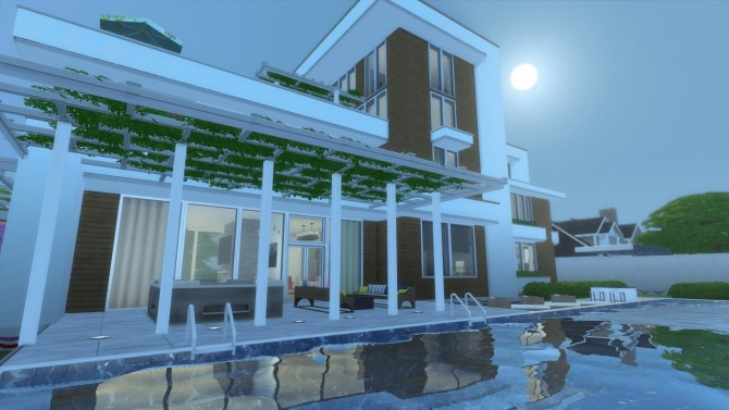 Ultra Modernity house by RayanStar at Mod The Sims image 3514 670x377 Sims 4 Updates