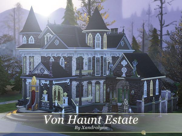 Sims 4 Von Haunt Estate by Xandralynn at TSR