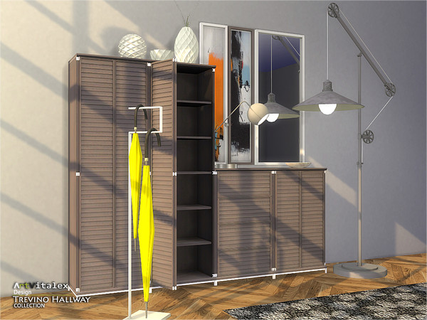 Trevino Hallway by ArtVitalex at TSR image 354 Sims 4 Updates