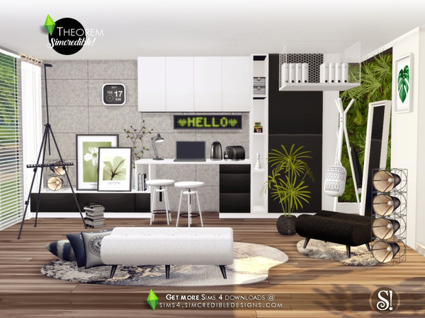 Theorem Hallway by SIMcredible at TSR image 358 Sims 4 Updates