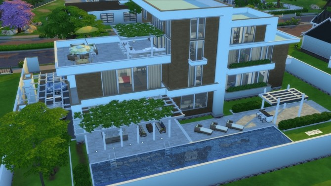 Ultra Modernity house by RayanStar at Mod The Sims image 3613 670x377 Sims 4 Updates