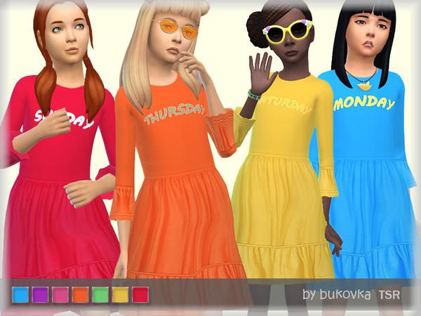 Sims 4 Dress Week by bukovka at TSR