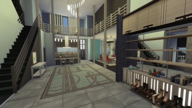 Ultra Modernity house by RayanStar at Mod The Sims image 3714 670x377 Sims 4 Updates