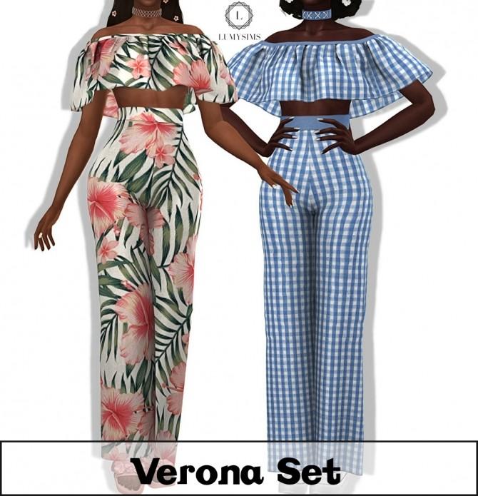 Verona Set at Lumy Sims image 3721 670x695 Sims 4 Updates
