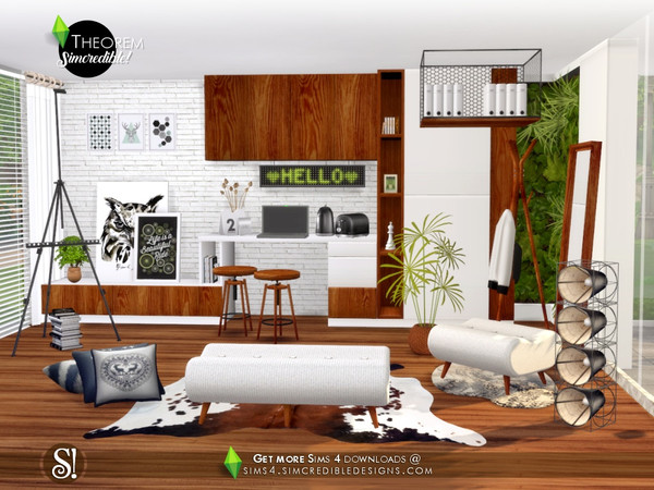 Theorem Hallway by SIMcredible at TSR image 378 Sims 4 Updates
