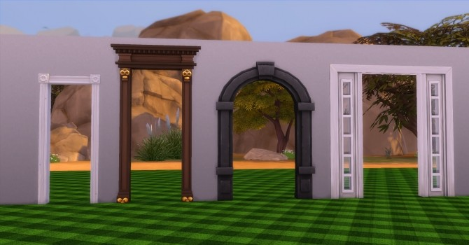 Archways by AdonisPluto at Mod The Sims image 379 670x350 Sims 4 Updates