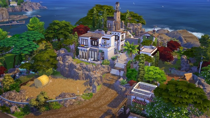 Spanish Town at Akai Sims – kaibellvert image 380 670x377 Sims 4 Updates