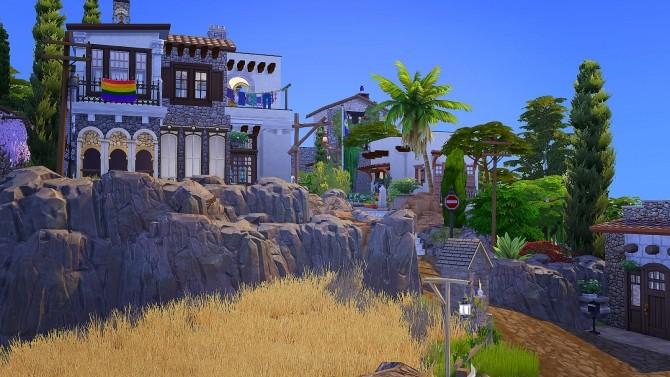 Spanish Town at Akai Sims – kaibellvert image 3821 670x377 Sims 4 Updates