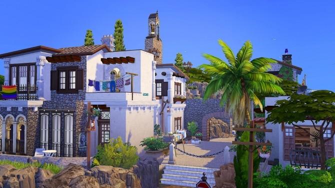 Sims 4 Spanish Town at Akai Sims – kaibellvert