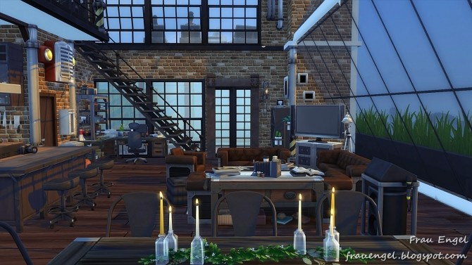 Industrial Penthouse at Frau Engel image 3912 670x377 Sims 4 Updates