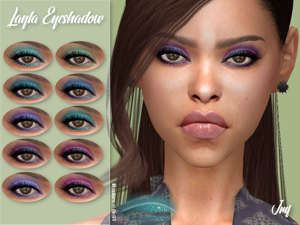 Sims 4 IMF Layla Eyeshadow N.97 by IzzieMcFire at TSR
