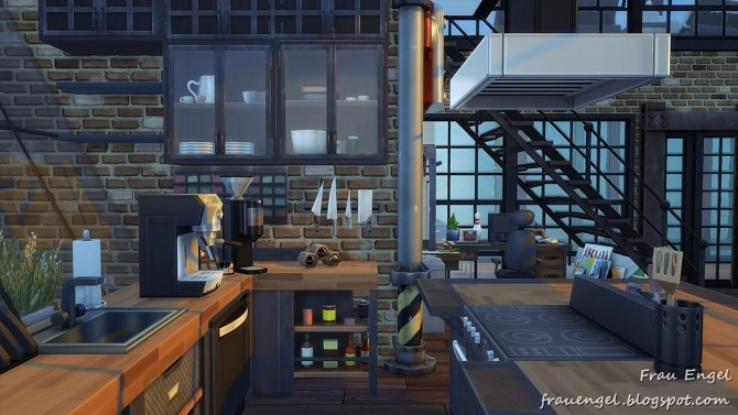 Industrial Penthouse at Frau Engel image 3931 670x377 Sims 4 Updates