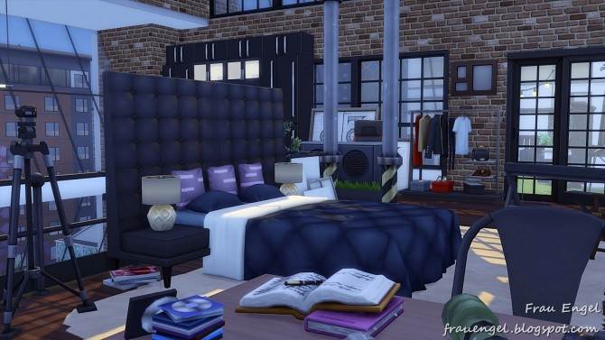 Industrial Penthouse at Frau Engel image 3941 670x377 Sims 4 Updates