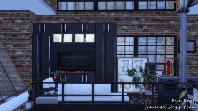 Industrial Penthouse at Frau Engel image 3951 670x377 Sims 4 Updates